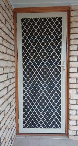 Diamond Grille Screen Door