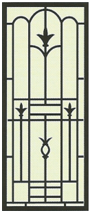 Cast Door Panel CG107