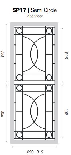 Colonial Castings SP17 Semi Circle