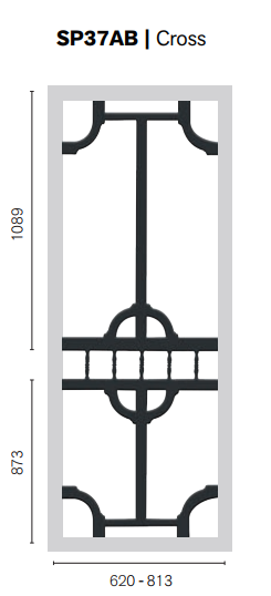 Colonial Castings SP37AB Cross