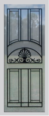 Colonial Castings SP74 Floating Decorative Grille