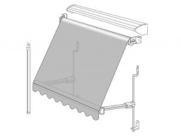 Outdoor awning diagram available in Adelaide