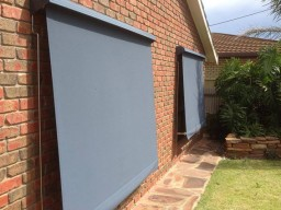 Solid colour exterior awnings adelaide