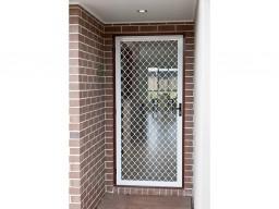 Security door on Adelaide house