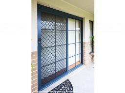 Security roller door on adelaide house