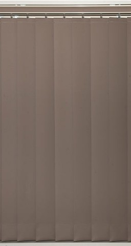 vertical blinds covering window