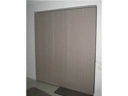 vertical blinds over door