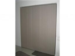 vertical blinds over door