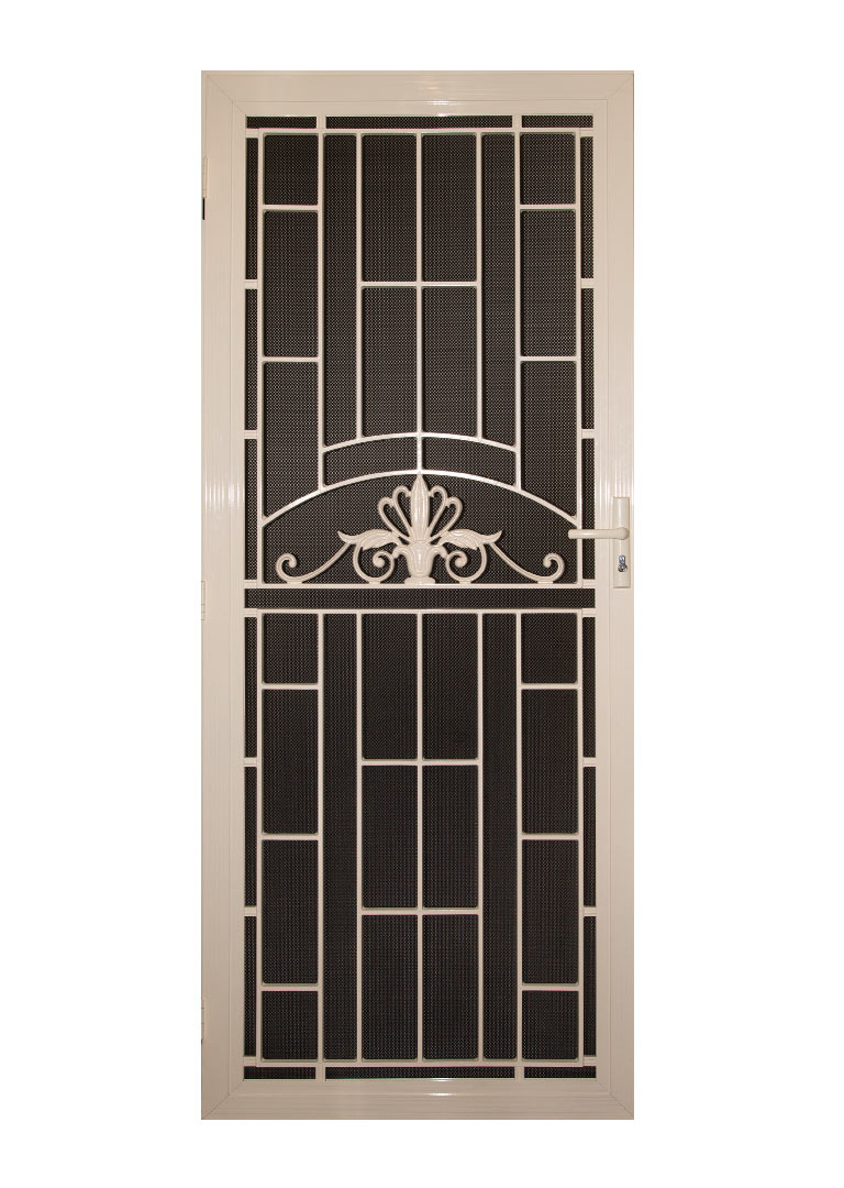Decorative screen doors asi security doors adelaide for Decorative screen doors