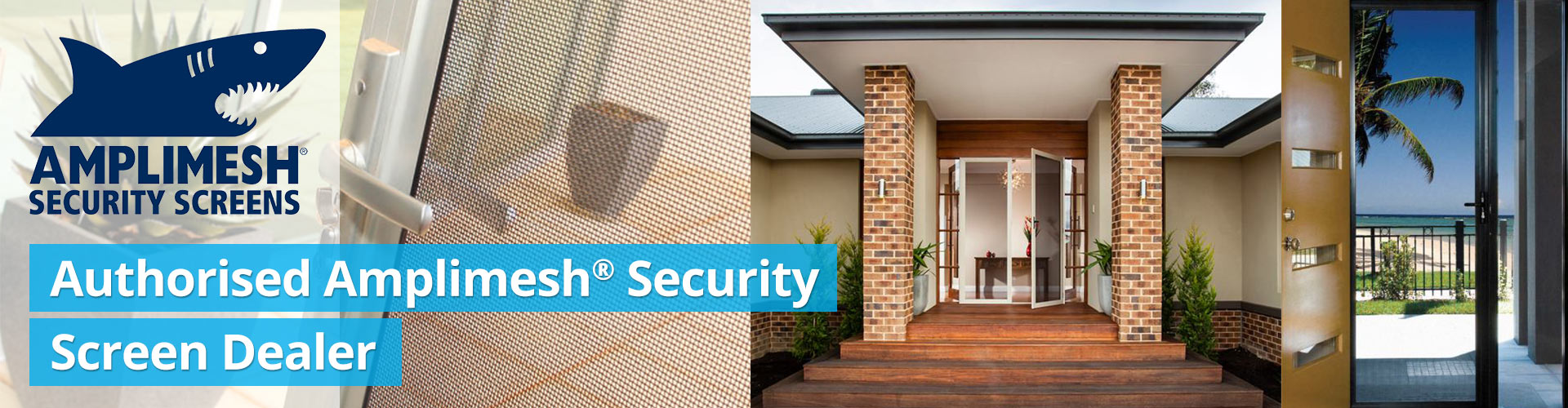 authorised amplimesh security screen dealer