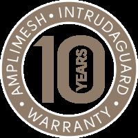 Intrudaguard 10 Year Screen Warranty