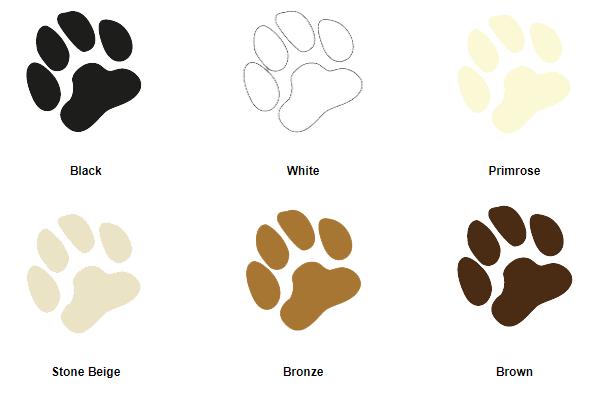 Pet door colour choices